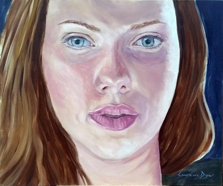 Scarlett Johansson by Lawrence Dyer