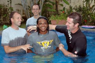 Baptizing New Believers