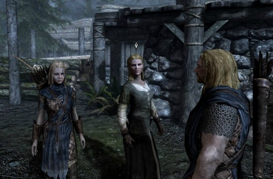 Pic of Gerdur welcoming Deirdre and Ralof