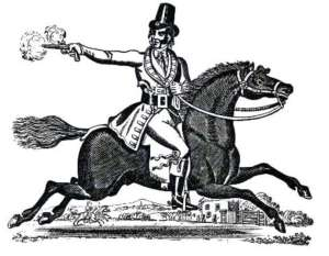 Dick Turpin, one of the most famous of highwaymen