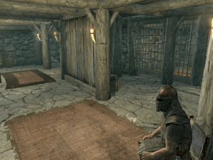 Pic of a jail in Skyrim