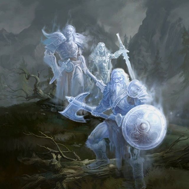 Pic of The heroes of Sovngarde, summoned by the Call of Valor