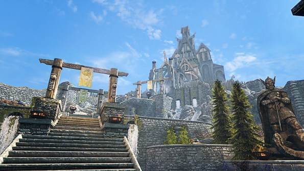 Pic of the steps to Dragonsreach