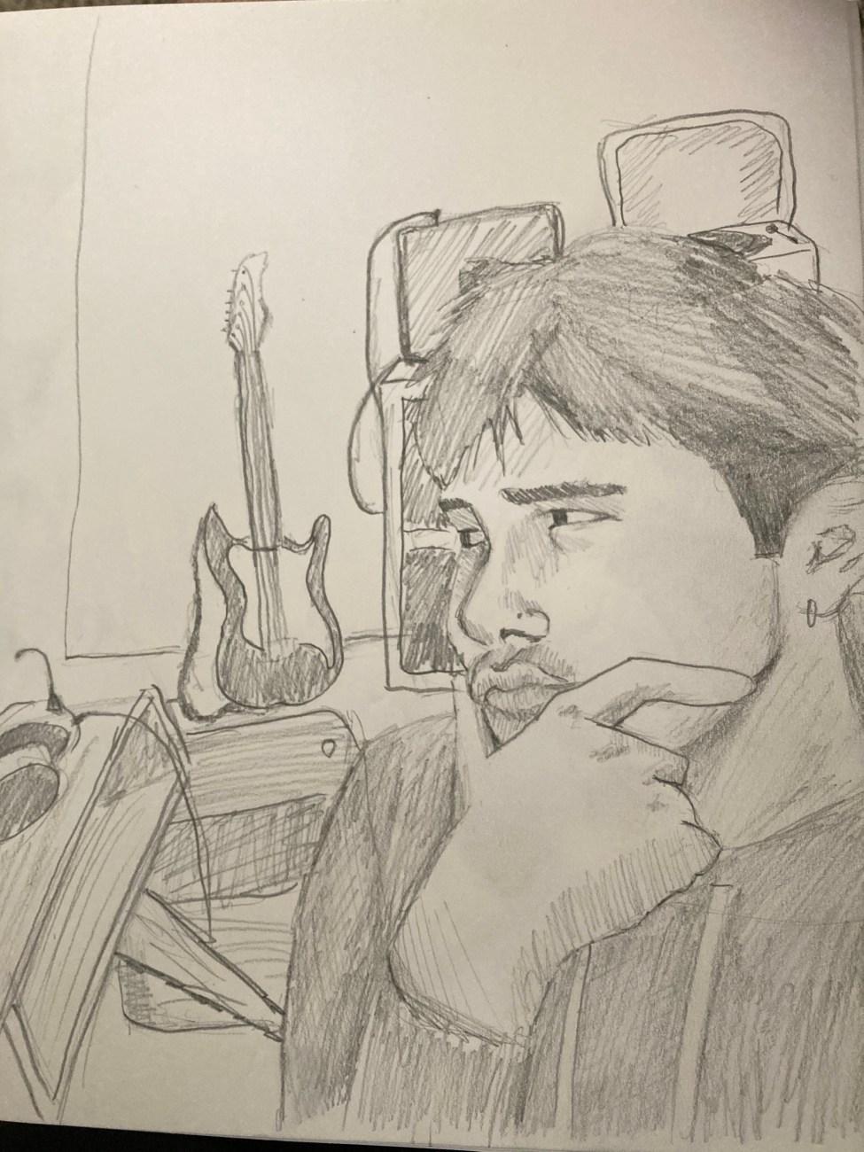 Portrait by Pedro Melendez