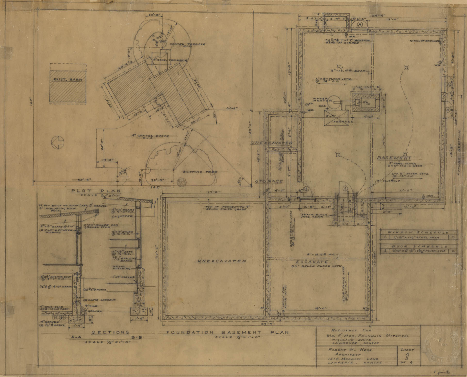 Architectural Plans Click Image To Expand Lawrence