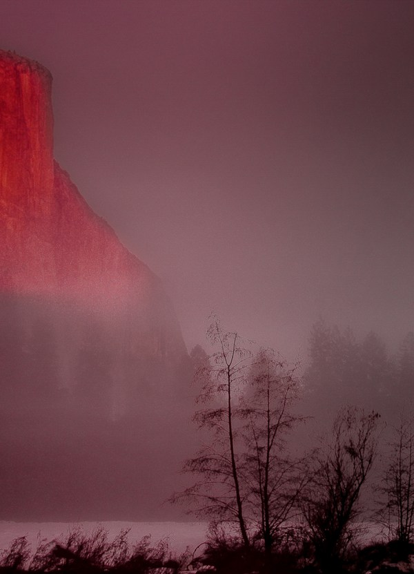 El Capitan, Photography, 28 x 20 matted and framed, $400.