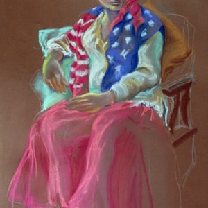 Diane Krempa, In the Spirit of 1776, pastel, 24x30, $375