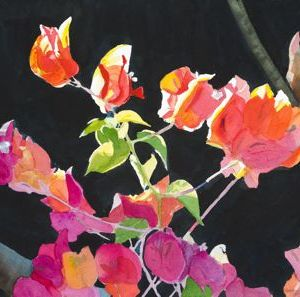 "Sherry Adams Foster, ""In the Hawaiian Sun"", watercolor, 32x24,$400"