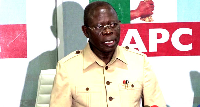 Appeal Court makes U-turn, to hear Oshiomhole's appeal 4pm Read more at: https://www.vanguardngr.com/2020/03/breaking-appeal-court-makes-u-turn-to-hear-oshiomholes-appeal-4pm/