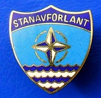 Breast Badge for those who served on STANAVFORLANT