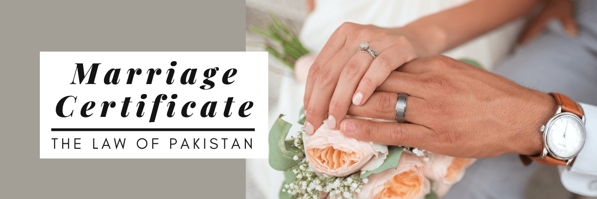 Marriage Certificate Pakistan