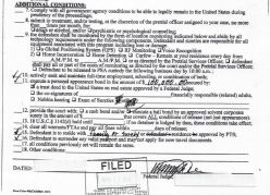 Federal Conditions of Release
