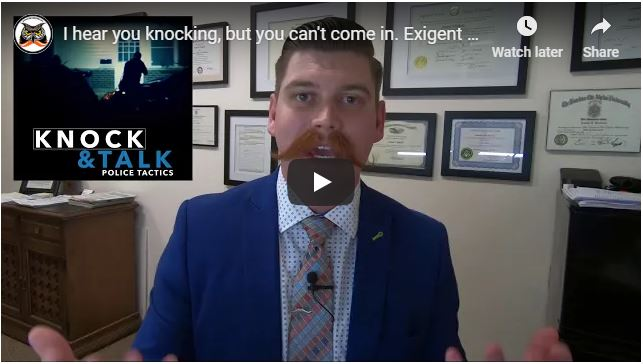 I hear you knocking, but you can't come in. Exigent Circumstances | US v. Lundin
