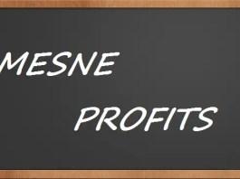 Mesne profits