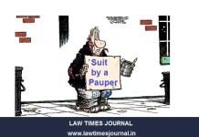 Suit by a Pauper