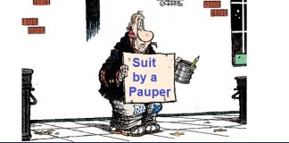 Suit by a Pauper
