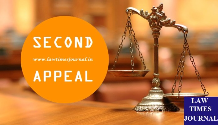 Second Appeal