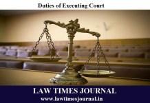 Executing Court