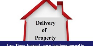 delivery of property
