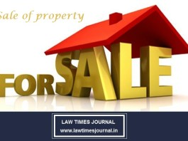 Sale of Property