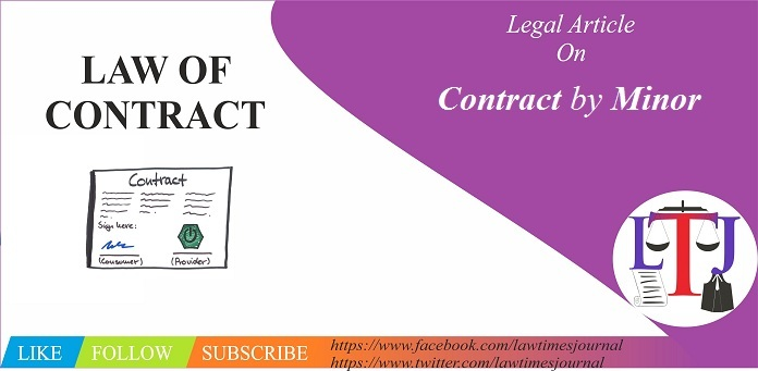 Contract by Minor