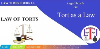 Tort as a Law