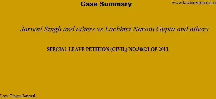 Jarnail Singh case