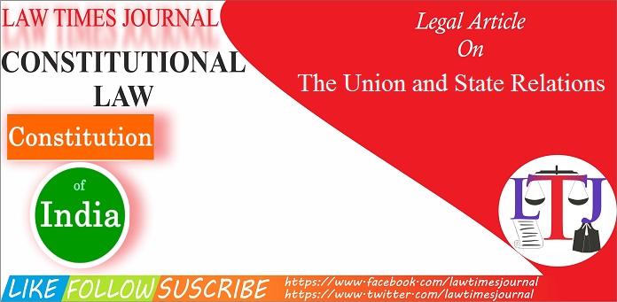 The Union & State Relation