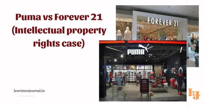 Puma vs Forever 21