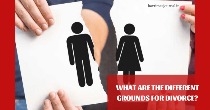 What are the different grounds for divorce?