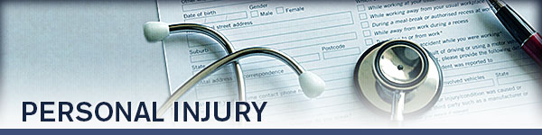 Picture of personal injury document