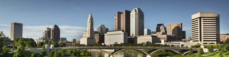 Photo of the Columbus city skyline