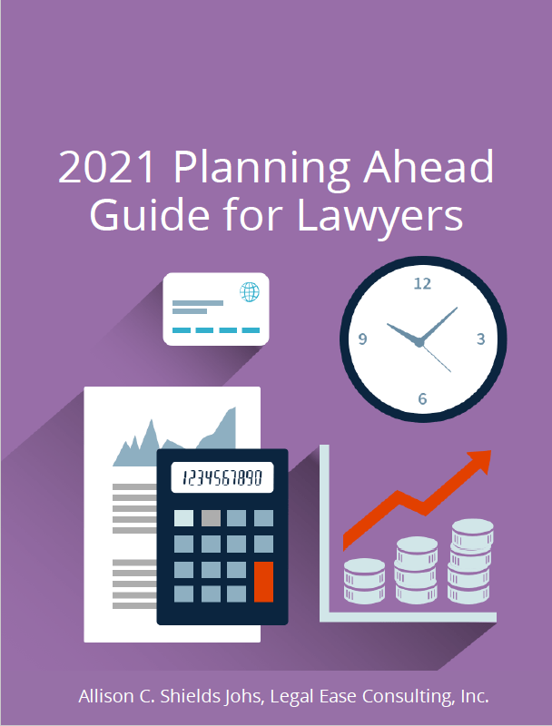 2021 Planning Ahead Guide for Lawyers - cover