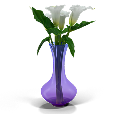 Calla lilies to denote a funeral and the subsequent inheritance process.