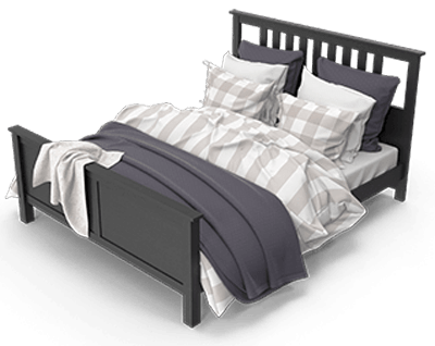 A bed as marital relations signify condonation.