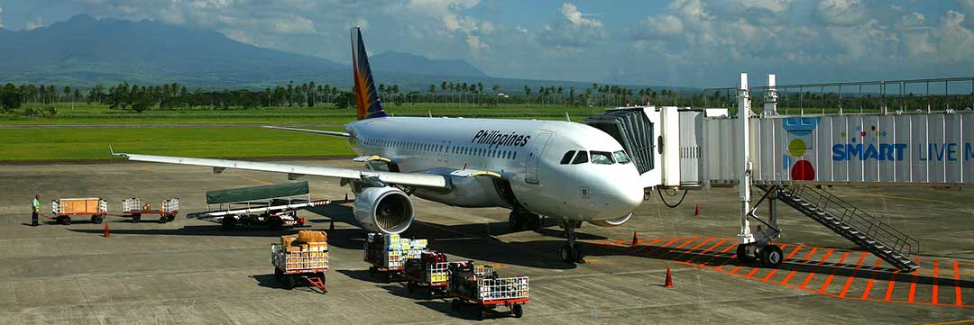A Philippine airlines plane to denote that the divorce must be registered in the Philippines.