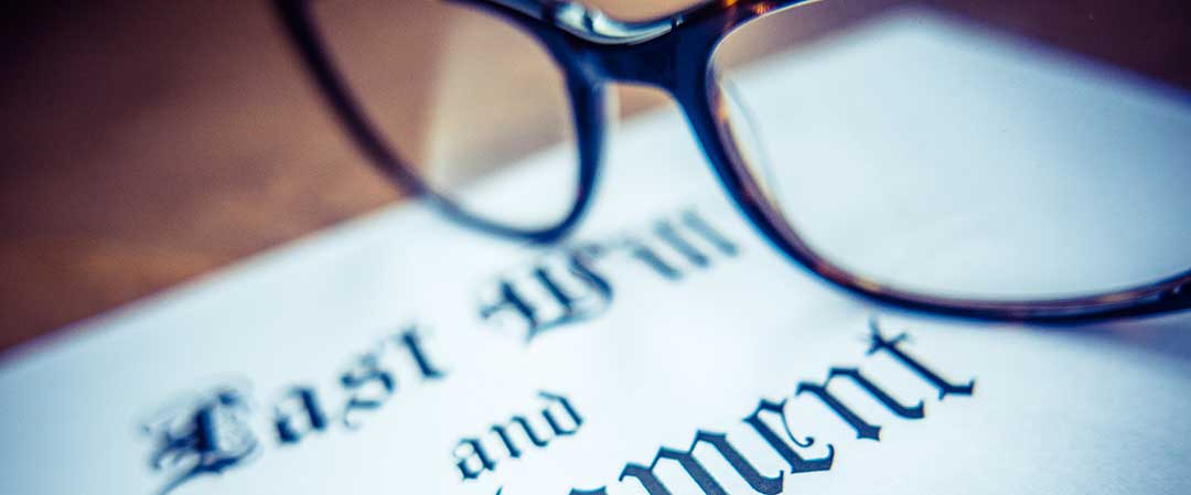 A hand written will by the testator or one written and notarized is required for a will to be valid.