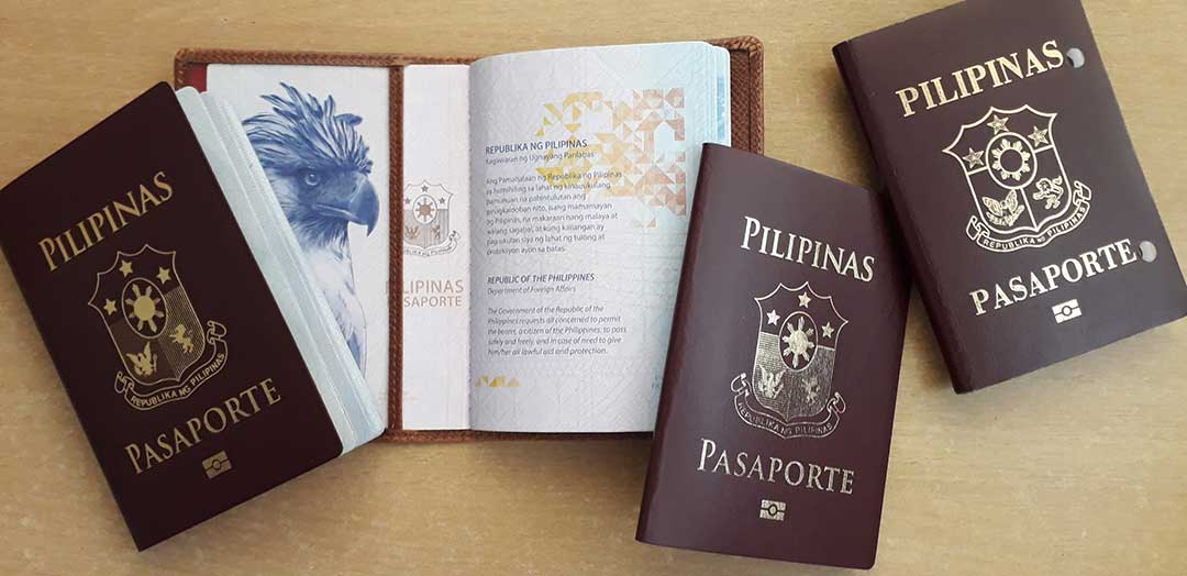 Philippine passports spread out on a table. Even the embassies echo this finding.