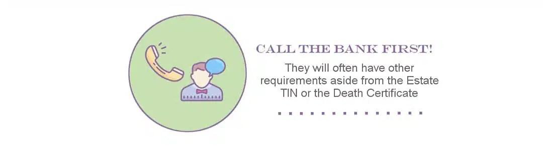 Call the Bank