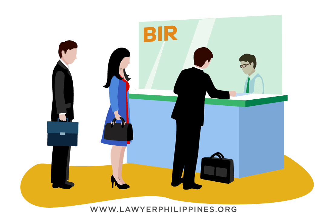 Settling an estate means paying transfer taxes at the BIR, which should be paid as soon as possible.