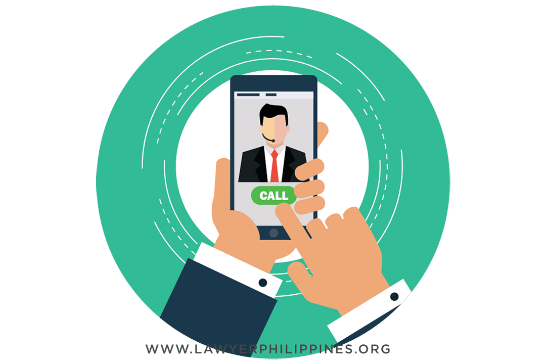 Employer trying to contact his employee through mobile phone