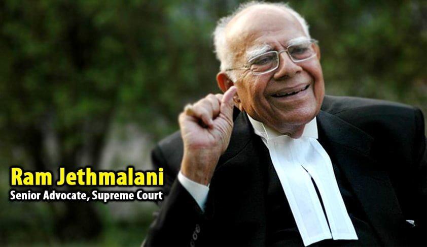 Advocate Ram Jethmalani