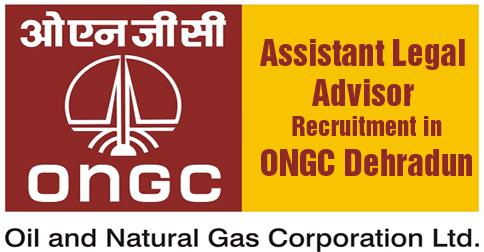 Assistant Legal Adviser ONGC