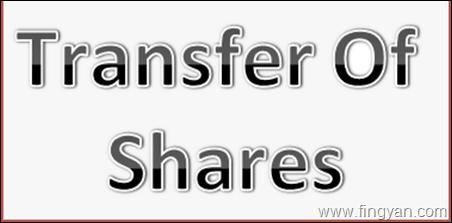 transfer of securities
