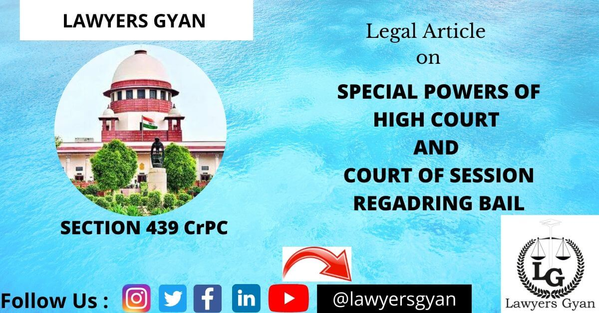 Special Powers of High Court