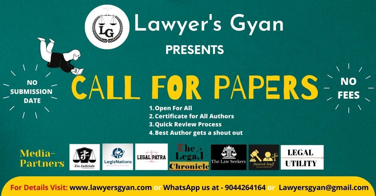 lawyers gyan journal Call for Papers