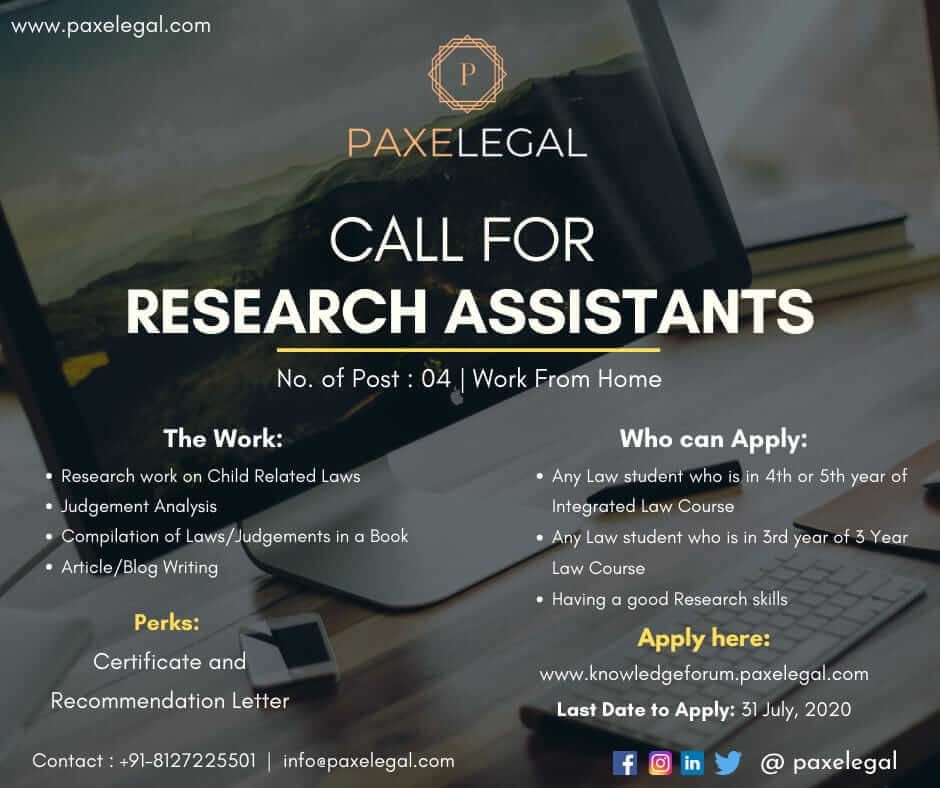 Paxelegal research