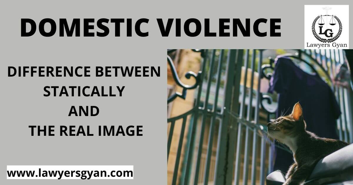 domestic violence Difference between statically and the real image