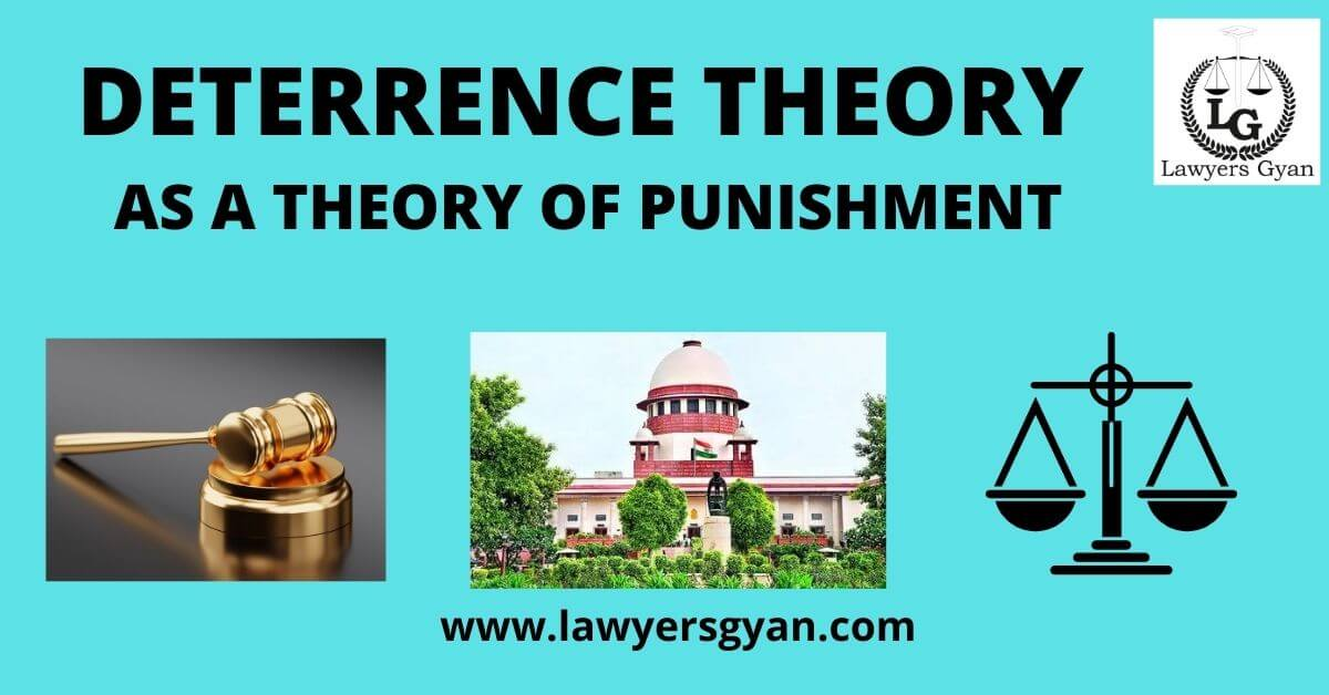 Deterrence Theory as a Theory of Punishment