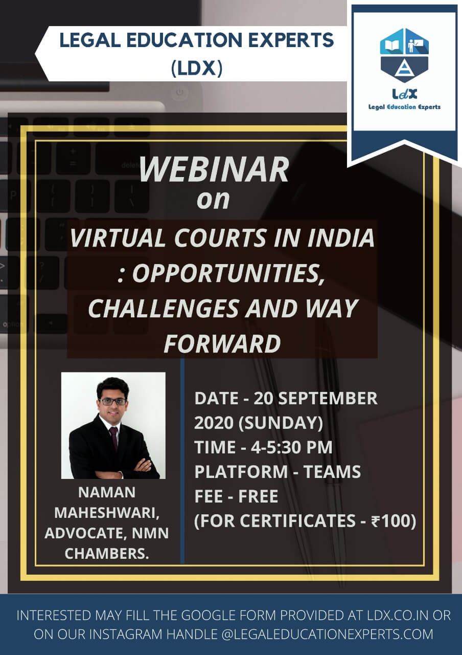 Virtual Courts In India